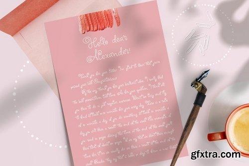 CM - Circle Around handwritten Kids Font 3940322