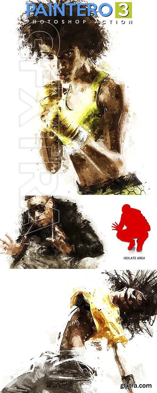 GraphicRiver - Paintero 3 - Photoshop Action 24042087