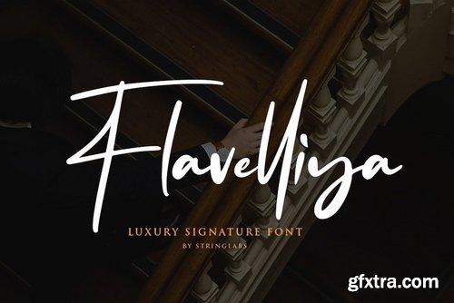 CM - Flavellya - Luxury Signature Font 3941383