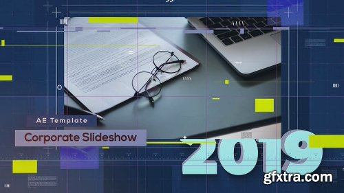 Videohive Harmony Timeline Corporate Slideshow 23533944