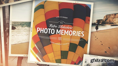Videohive Photo Memories - Retro Slideshow 10677746