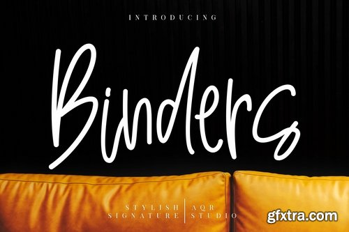 Binders Stylish Signature