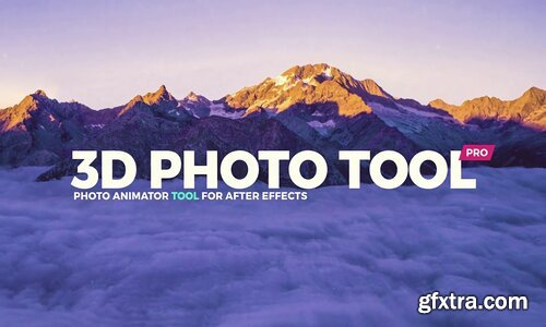 Videohive - 3D Photo Tool Pro - Professional Photo Animator V.3 - 13587468