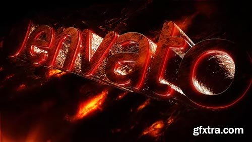 Videohive - Hot Logo Intro - 22095216