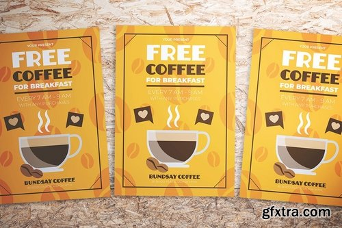 Coffee Promotion Flyer