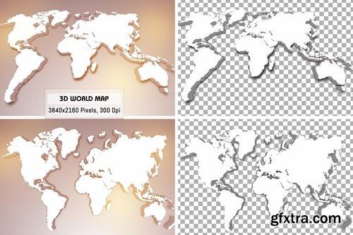 3D World Maps