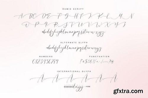 CM - Rumie Script 2142226