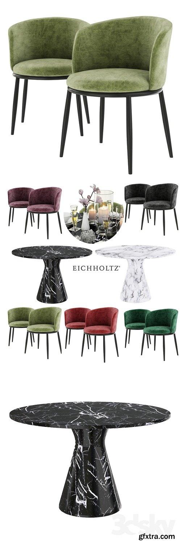 EICHHOLTZ Dining Table Turner 3D Model