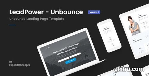 ThemeForest - Unbounce Landing Page Template - LeadPower v1.0 - 22385696