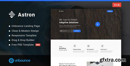 ThemeForest - Astron v1.0 - Business Unbounce Landing Page Template - 23271304