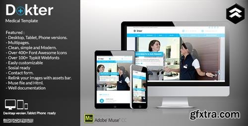 ThemeForest - Dokter v1.0 - Medical Muse Template - 11730087