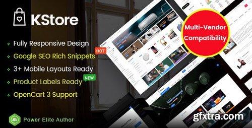 ThemeForest - KStore v1.0.0 - Multipurpose OpenCart 3 Hi-Tech Theme ( 3 Mobile Layouts Included) - 23735944