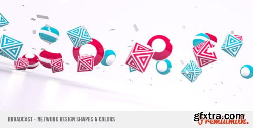 VideoHive Broadcast - Network Design Shapes & Colors 310454