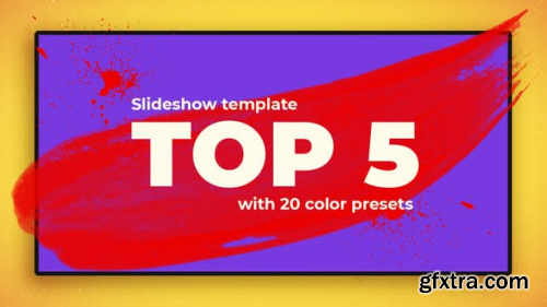 VideoHive Top 5 and 10 Best 20511152
