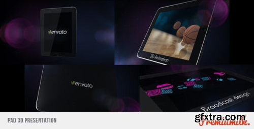 VideoHive Pad 3D Presentation 339649