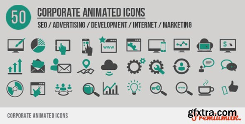 VideoHive Corporate Animated Icons 5710044