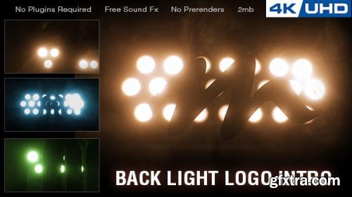 VideoHive Backlight Logo Intro 20957792