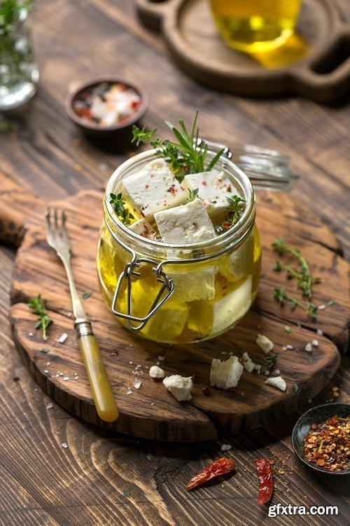 Karl Taylor Photography - Food Photography: Feta Cheese