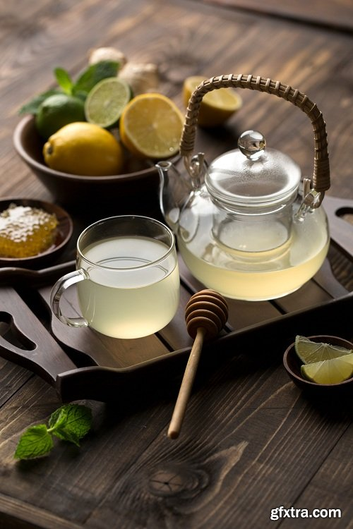 Karl Taylor Photography - Food Photography: Ginger & Lime Tea Preparation & Shoot