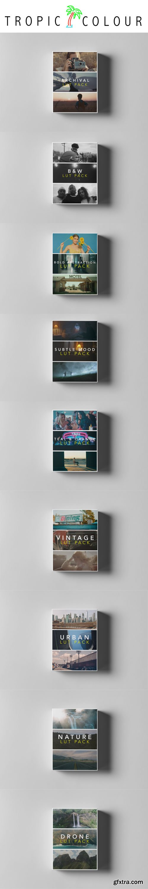 Tropic Colour - All LUTs Collections