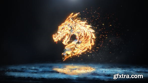 VideoHive Ice and Flame Logo 23354085