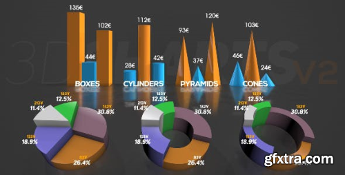 VideoHive 3D Charts v.2 16228555