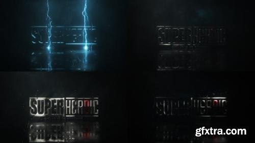 VideoHive Lightning Strike Logo 24070093
