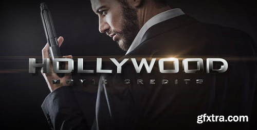 VideoHive Hollywood Movie Credits 19908791