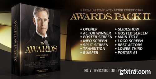 VideoHive The Awards Pack II 21028791