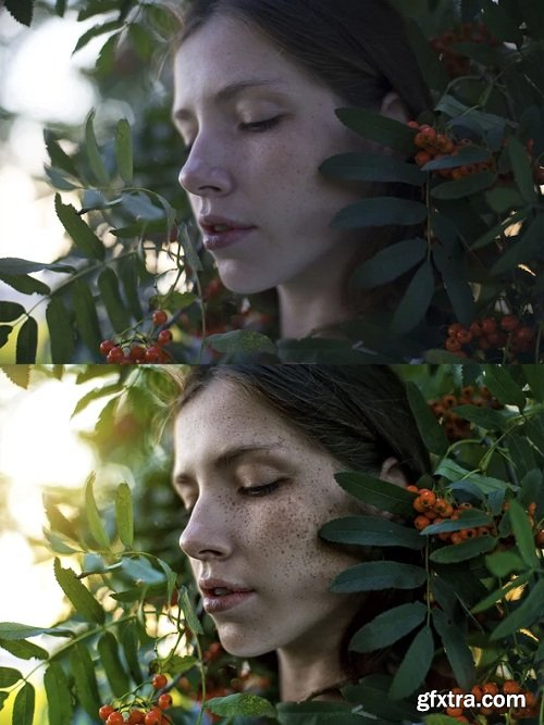 Portraitsrussian - Girl in the Bush: Editing Video