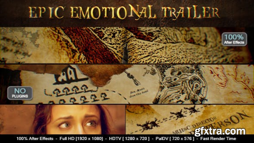 VideoHive Epic Emotional Trailer 11083662
