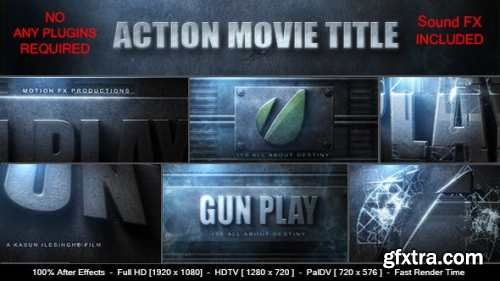 VideoHive Action Movie Logo 8948619