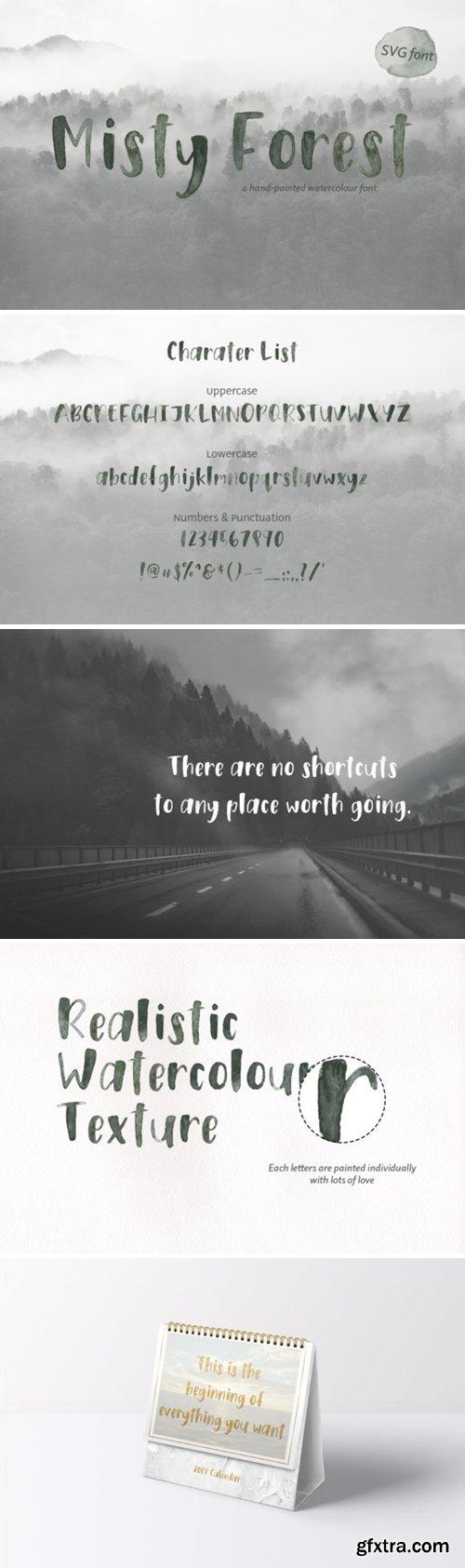 Misty Forest Font