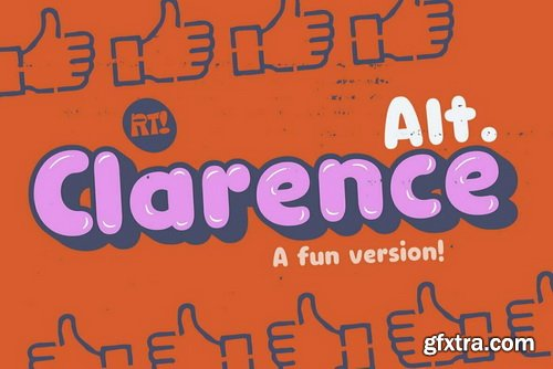 Clarence Alt Font Family