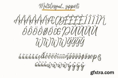 CM - Cherrio brush font 3940218