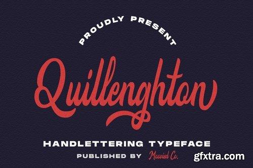 Quillenghton Typeface