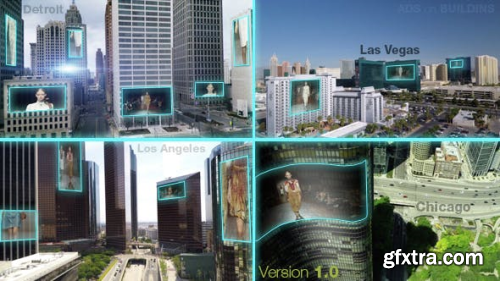 VideoHive Outdoor LED Advertising Displays 14563041