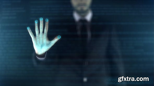 VideoHive Holographic Display - Digital Era 20053543