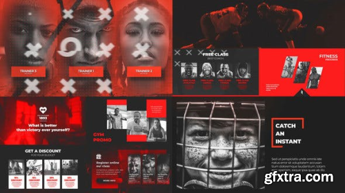 VideoHive Crossfit Gym - Sport Workout Promo 22988884