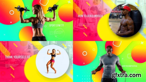 VideoHive Sporty Club - Fitness Promotion 23683015