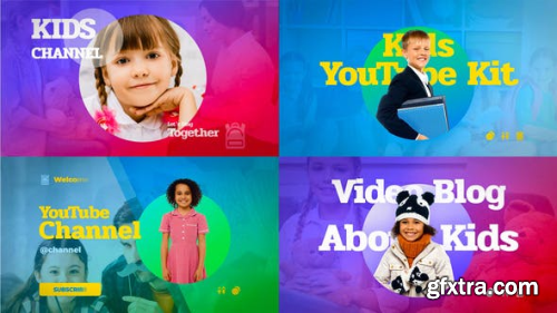 VideoHive Kids YouTube Kit 23735094