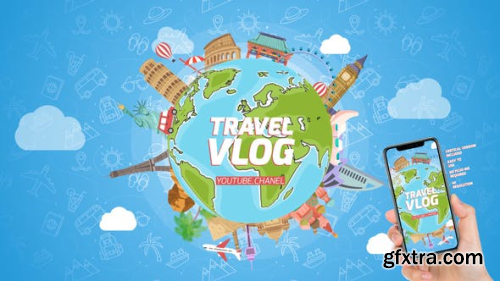 VideoHive Travel Logo Reveal 23912416