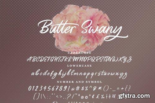 CM - Butter Swany - Handwritten Font 3954090