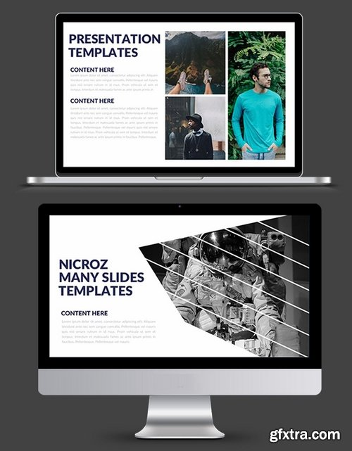 Nicroz Powerpoint and Keynote Templates