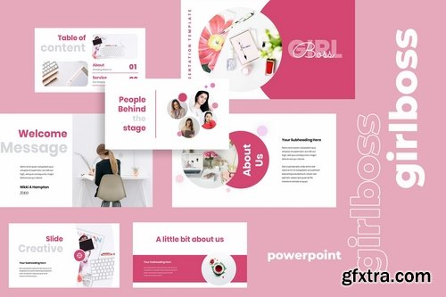 Girlboss - Powerpoint Google Slides and Keynote Templates