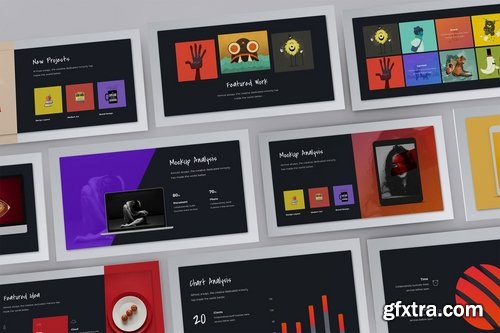 FireBird Creative Powerpoint and Keynote Templates