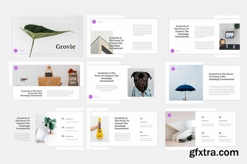 Grovie Creative - Powerpoint Google Slides and Keynote Templates