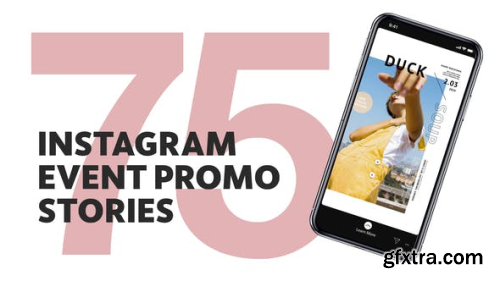 Videohive 75 Insta Event Promo Stories 2090221