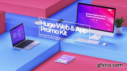 Videohive Huge Web Promo & App Promo Kit 24175023