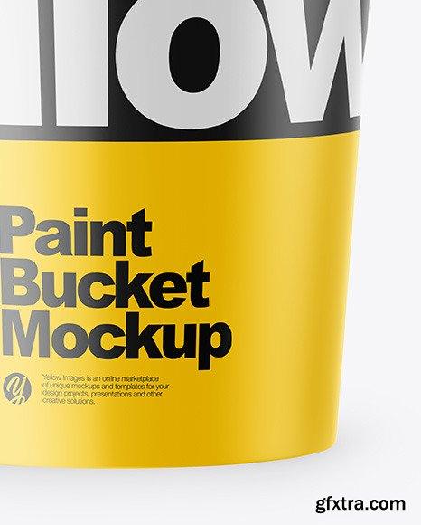 Glossy Bucket Mockup 46258